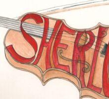 Sherlock Holmes' Violin Sticker