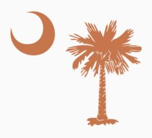 Orange Palmetto Moon by Carolina Swagger
