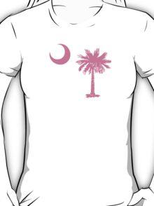 Pink Palmetto Moon T-Shirt