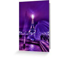 La Ville-Lumière Greeting Card