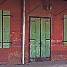 Behind the Green Door by Buckwhite