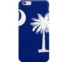 White Palmetto Moon iPhone Case/Skin