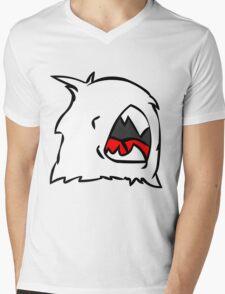 Fur Ball Mens V-Neck T-Shirt