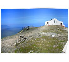 Croagh Patrick church Poster