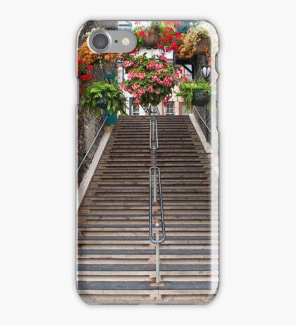 Steps Of Old Quebec iPhone Case/Skin