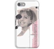 Information féminin  iPhone Case/Skin