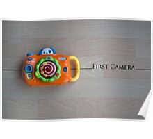 My First Camera Poster