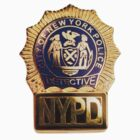 NYPD Detective Badge by MissManectric