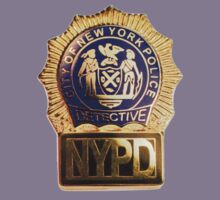 NYPD Detective Badge Kids Clothes