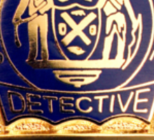 NYPD Detective Badge Sticker