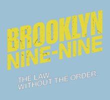 Brooklyn Nine-Nine Logo & Slogan Kids Clothes