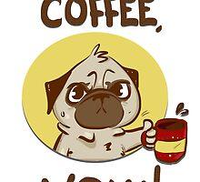 I want Coffee by elenapugger