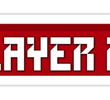 Player 1 Sticker