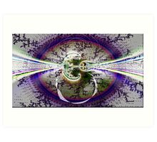 Abstract Energy Art Print