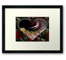 Spiral In Love Framed Print