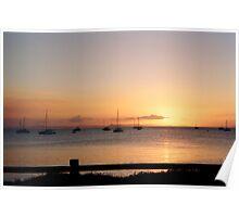 Keppel Golden Sunset Poster