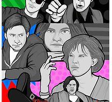 breakfast club 30th anniversary collage by gjnilespop