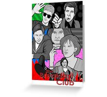 breakfast club 30th anniversary collage Greeting Card