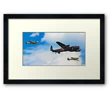 The Battle of Britain Memorial Flight (RAFBBMF) Framed Print