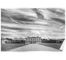 Greenwich - Queen's House BW Poster