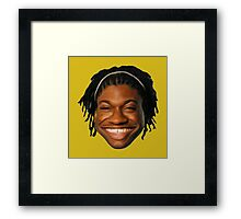 RG3 Caricature Framed Print