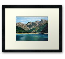 Scottish Loch Framed Print