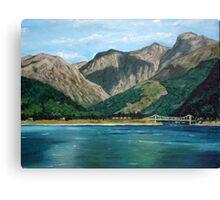 Scottish Loch Canvas Print