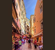 Busy Corfu Alley Unisex T-Shirt