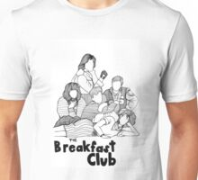The Breakfast Club Line Drawing Unisex T-Shirt
