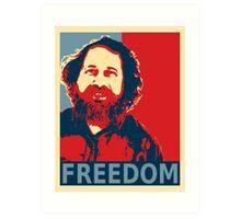 Richard Stallman Art Print