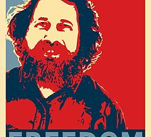 Richard Stallman by generic-pony
