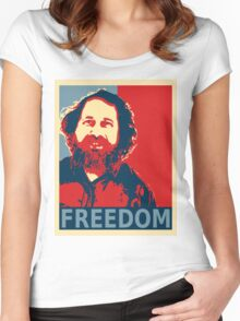 Richard Stallman Women's Fitted Scoop T-Shirt