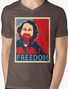Richard Stallman Mens V-Neck T-Shirt