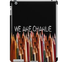 WE ARE CHARLIE iPad Case/Skin