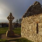Clonmacnoise monastic settlement  by John Quinn