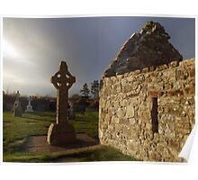 Clonmacnoise monastic settlement  Poster