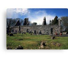Dysart o Dea church ruins Canvas Print