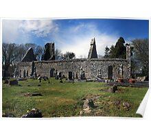 Dysart o Dea church ruins Poster