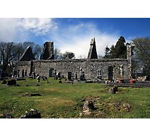 Dysart o Dea church ruins Photographic Print