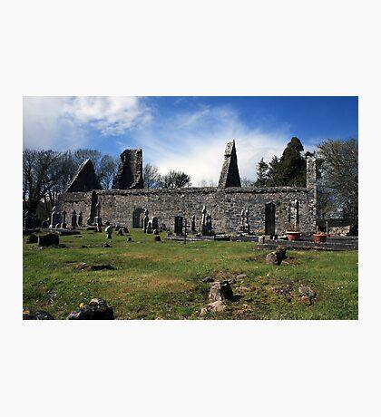 Dysart o Dea church ruins Photographic Print