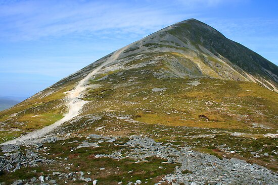Croagh Patrick mountain, county Mayo