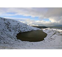 Mangerton corrie lake Photographic Print