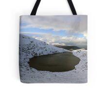 Mangerton corrie lake Tote Bag