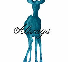 Harry Potter Merchandise ('Always' Quote/Stag) by TheMythOfMe