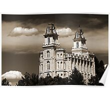 """Manti Temple - """"Summer Clouds"""" Poster"""