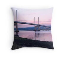 Kessock Bridge Throw Pillow