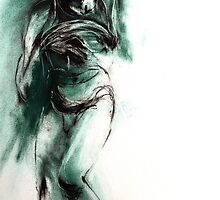 Dying Slave - after Michelangelo by Leonie Chinn