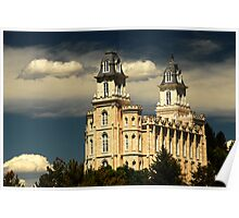 Manti Temple - Summer Light Poster