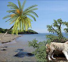 917-White Beach Predator by George W Banks