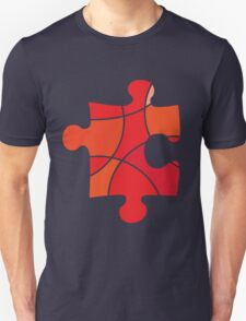 Red puzzle piece T-Shirt